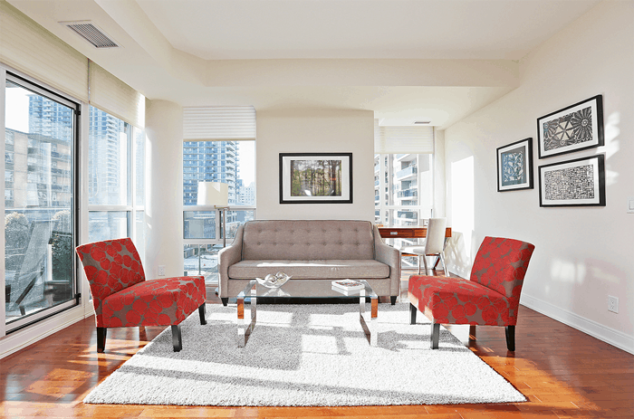 A nicely staged condo listing by Dimitrios